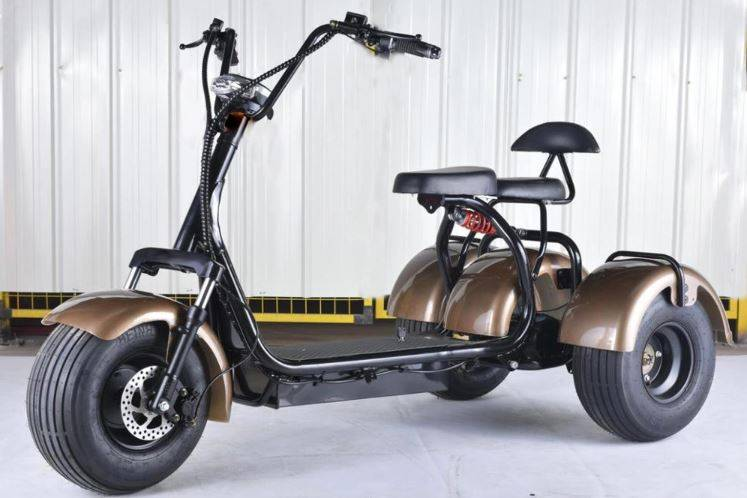 3 wheel electric scooter with seat for adults