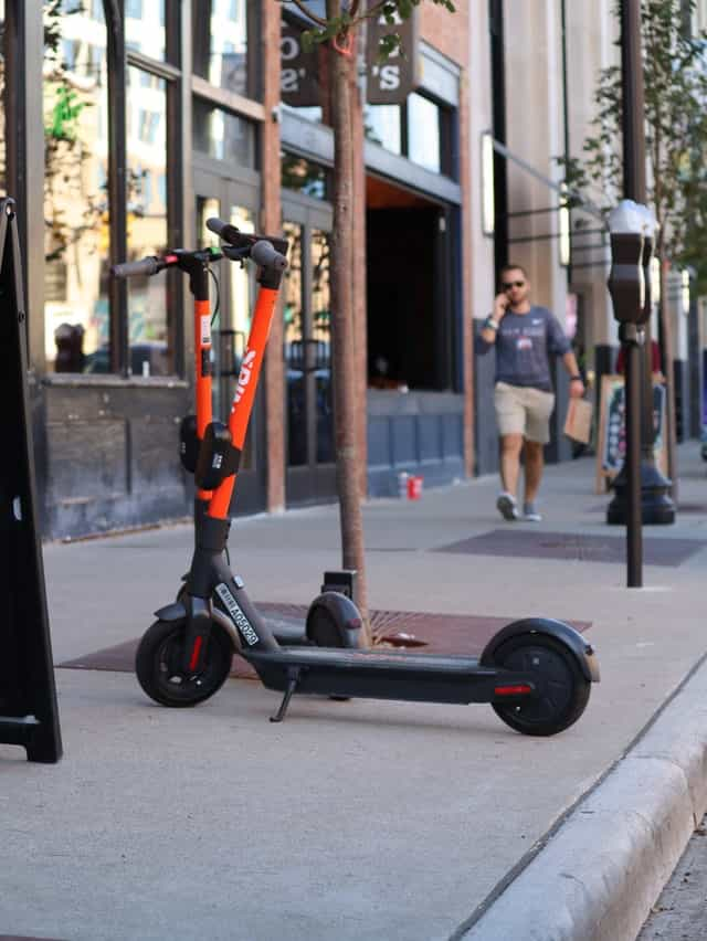Electric scooter laws,Are electric scooters legal on side walks