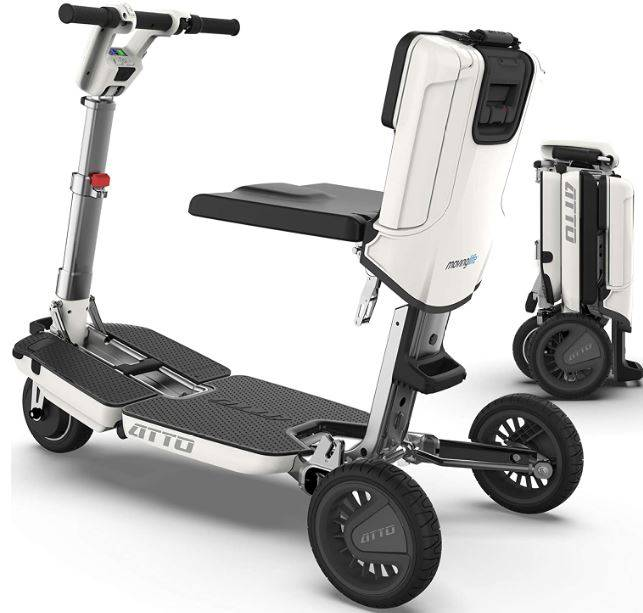 electric scooter for handicapped adults
