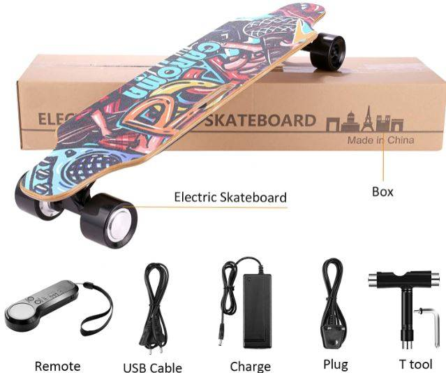best electric skateboard with remote