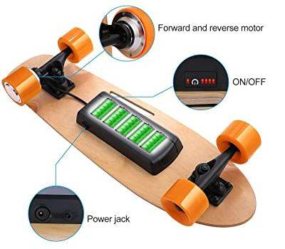 lightweight electric skateboard