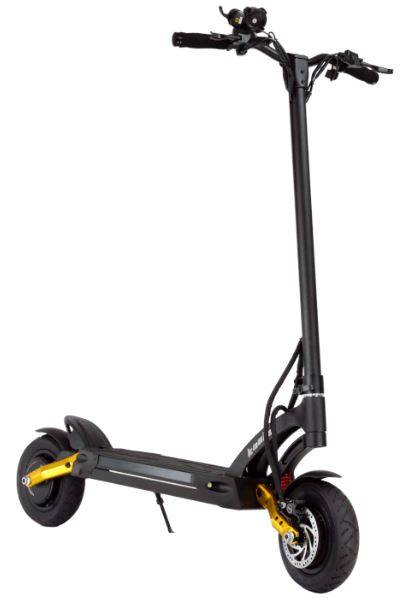 electric scooter for heavy riders