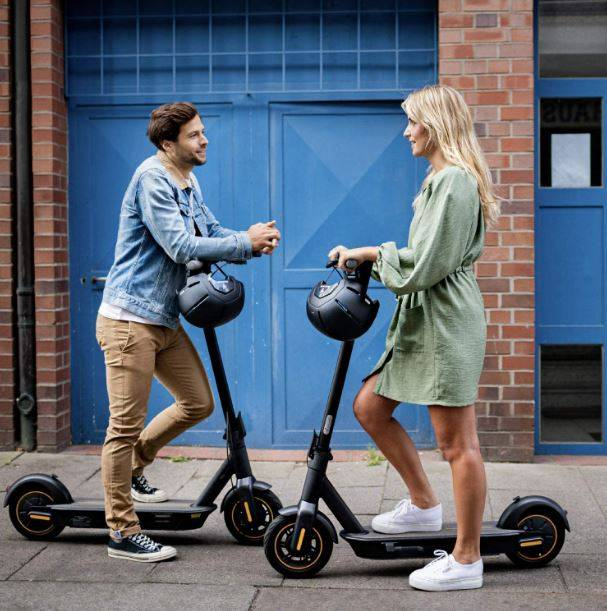 segeay ninebot max electric scooter review