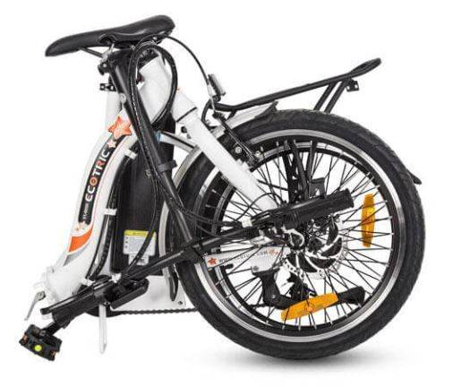 electric folding bike for heavy rider