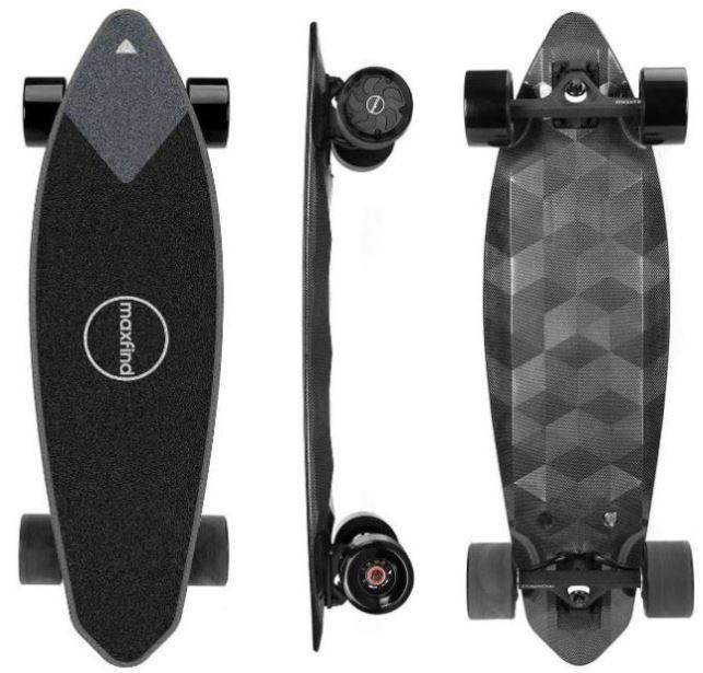 maxfind pro2 electric skateboard
