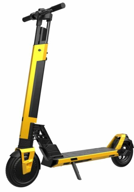 electric kick scooter with detachable battery
