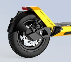 e scooter with removable battery