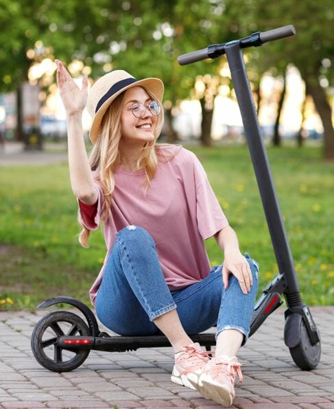 best electric scooter for women